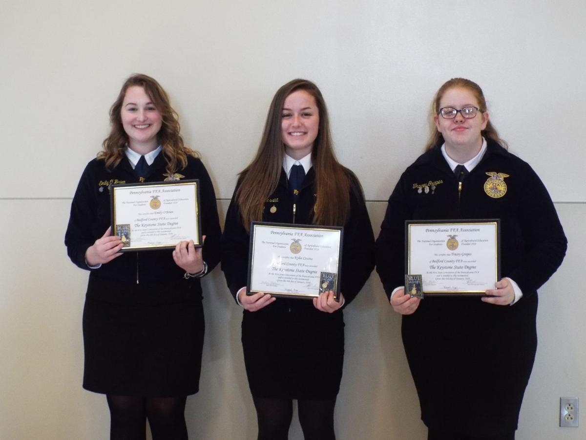 Area students receive Keystone Degree