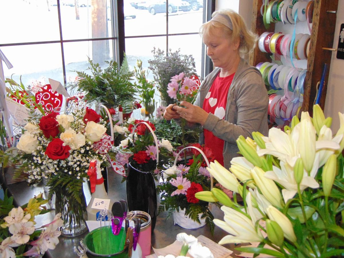 Flower shops prep for Valentine's Day