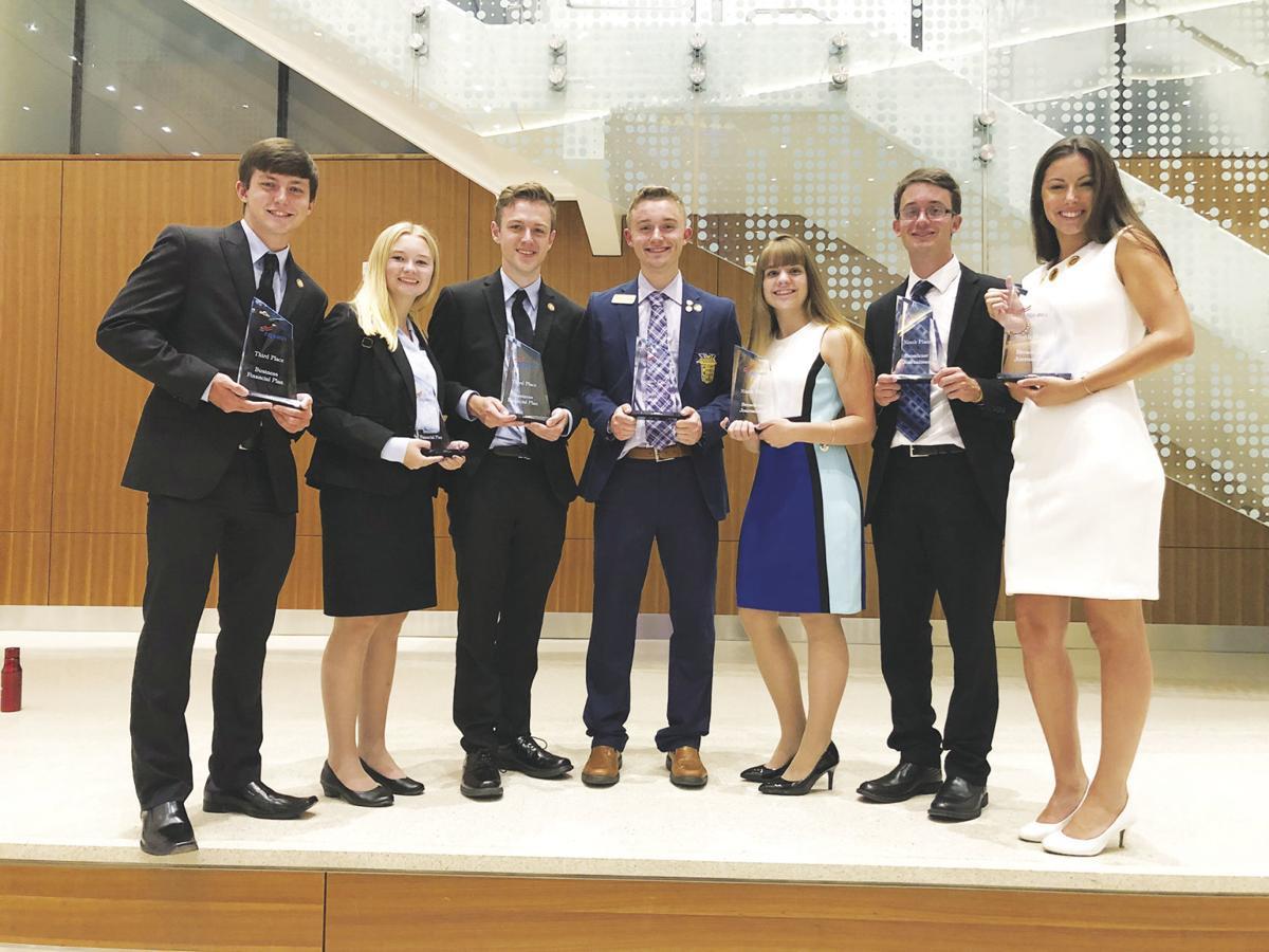 C-K national FBLA place winners