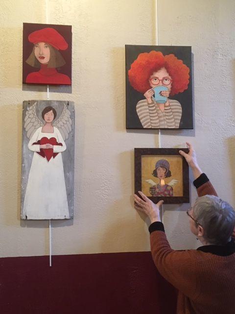 Artists exhibit opens