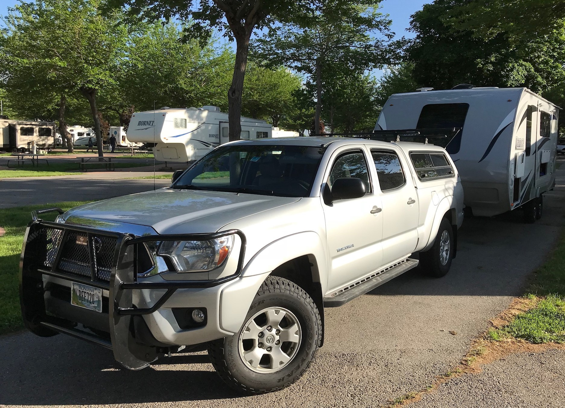 Toyota Tacoma Topper >> 2013 Toyota Tacoma 24 900 Silver Double Cab Leer Topper