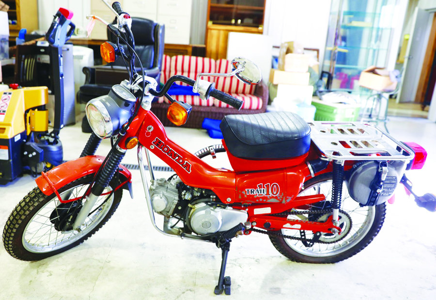 Honda Trail 110 >> Honda Trail 110 3640 Miles A 8 Out Of Motorcycles