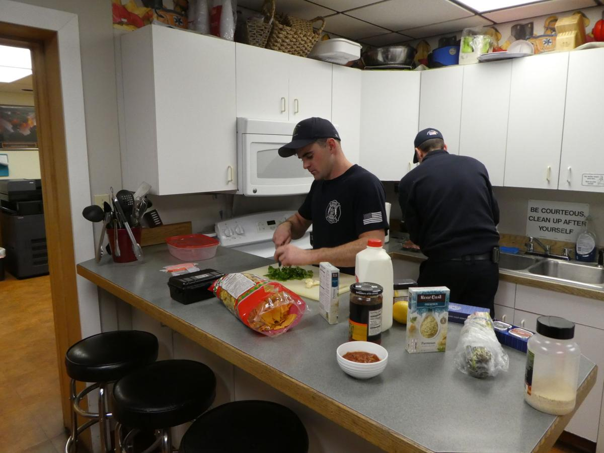 Central Valley fire district cooking