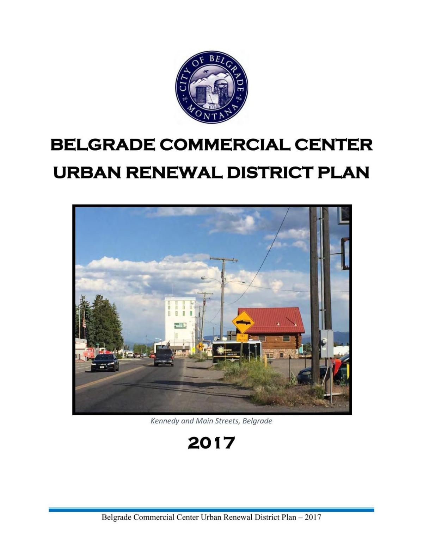Belgrade Urban Renewal Plan