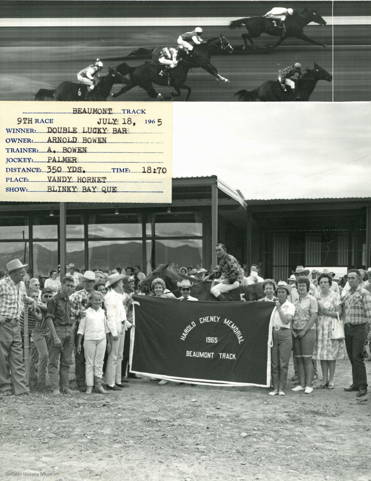 Beaumont track Horse jockey