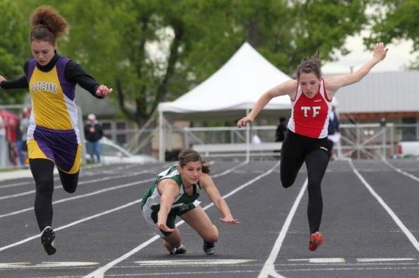 belgrade middle school track meet