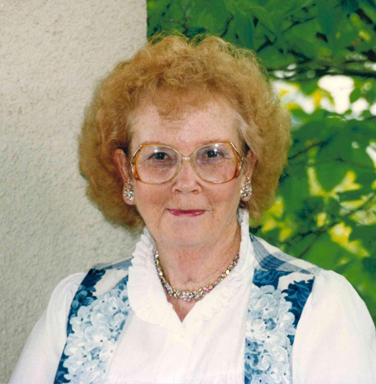 Ruth (Schenk) Strickler