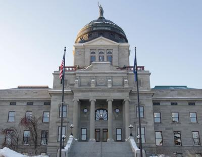 State Capital in snow