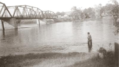Toston Bridge historic