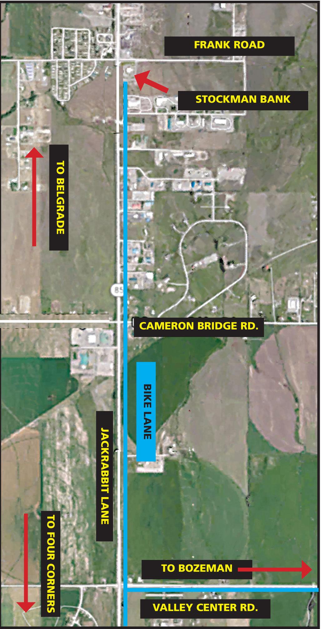 bike path map