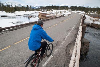 Yellowstone bike spring