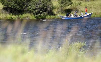 Madison River fishing