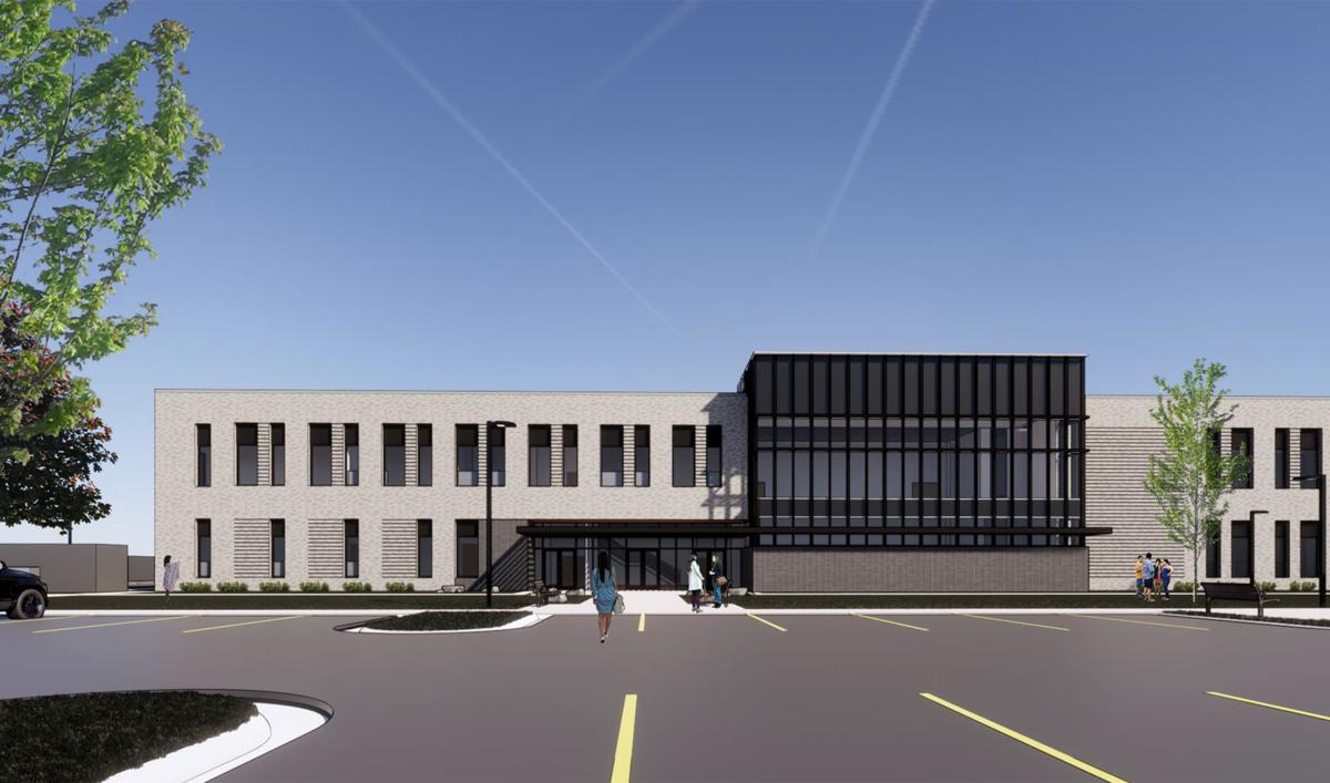 Gallatin County Law and Justice Center Rendering