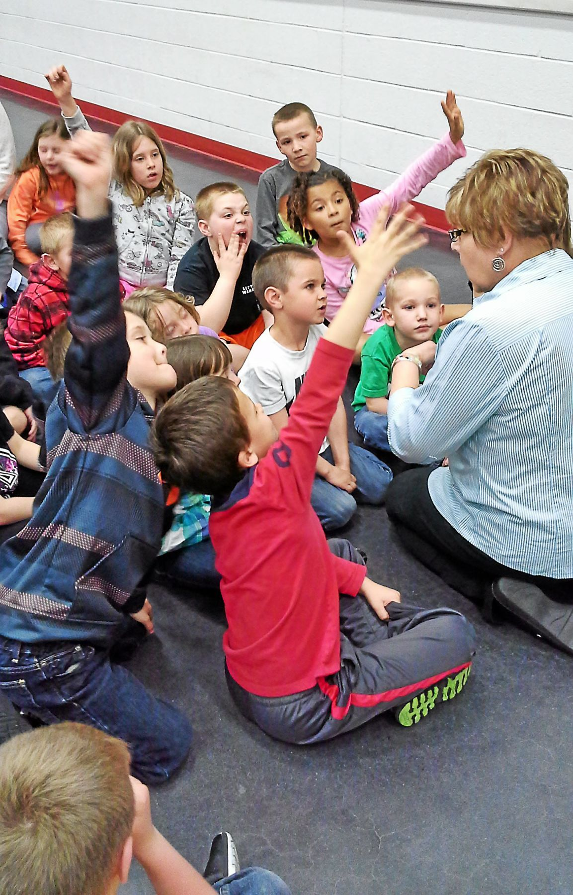 Perry Elementary Center students are crazy about new math club