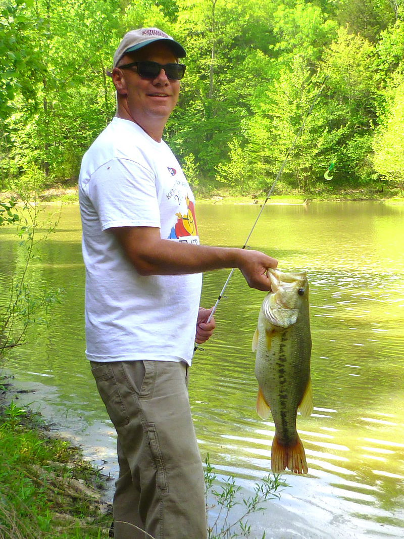 Two good options for early summer fishing sports for Bass fishing yard sale