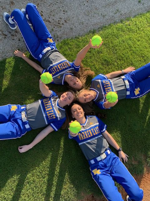 Warren East softball