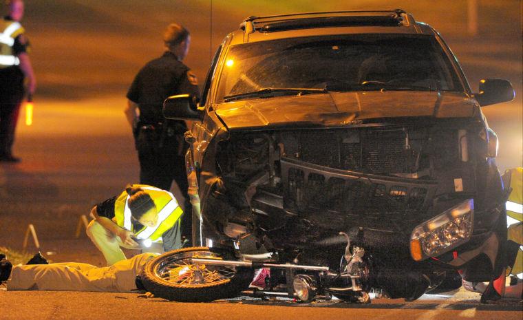 Witness Saw Sparks Heard Crash That Caused Motorcyclist S Death News Bgdailynews Com