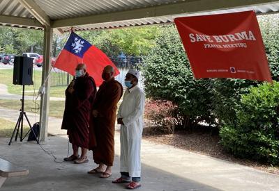 Burmese community gathers, prays for homeland