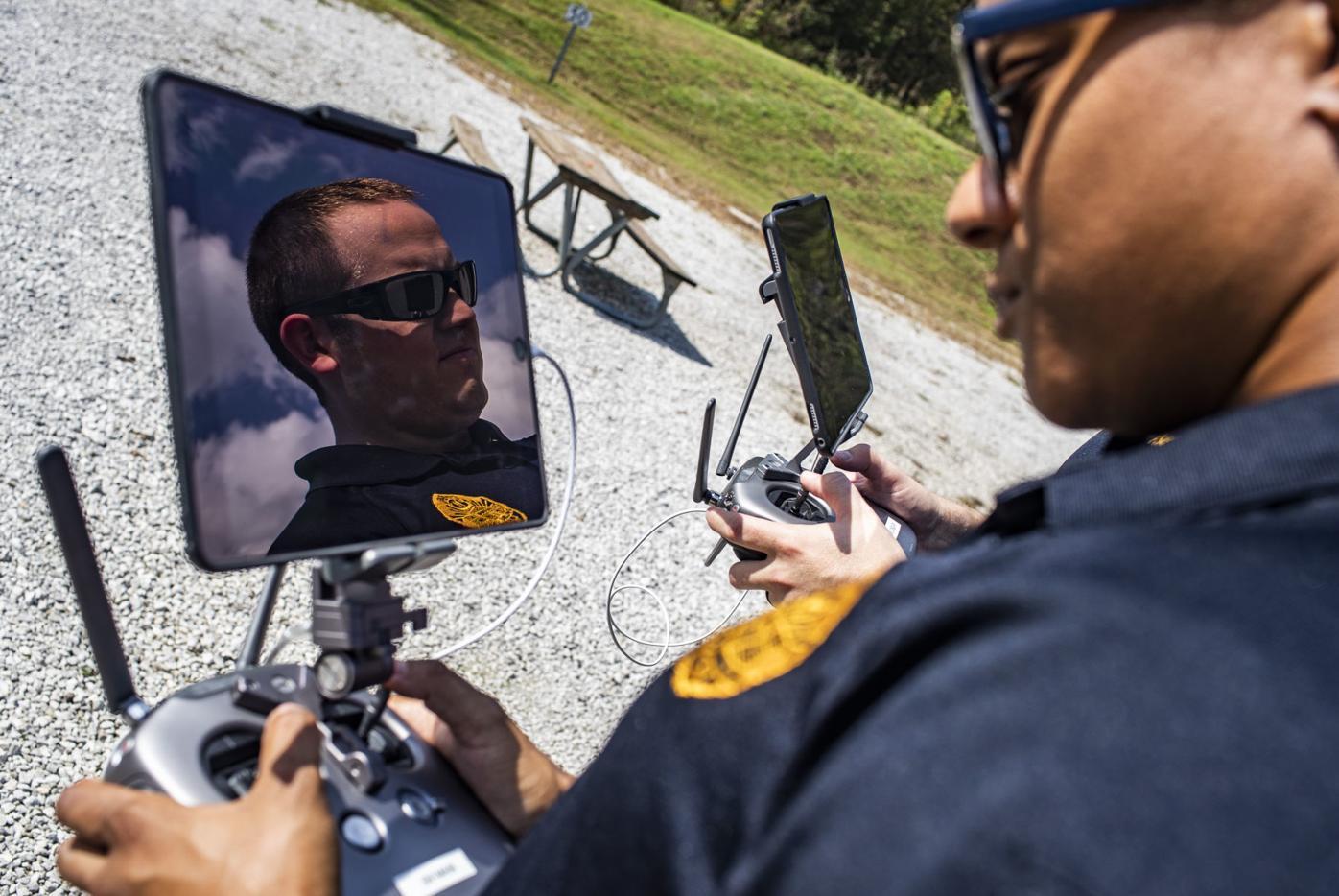 Police drone training