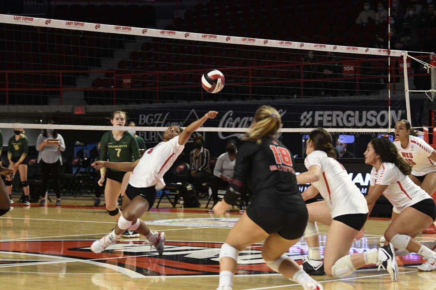 NCAA Volleyball 2021: Charlotte vs WKU