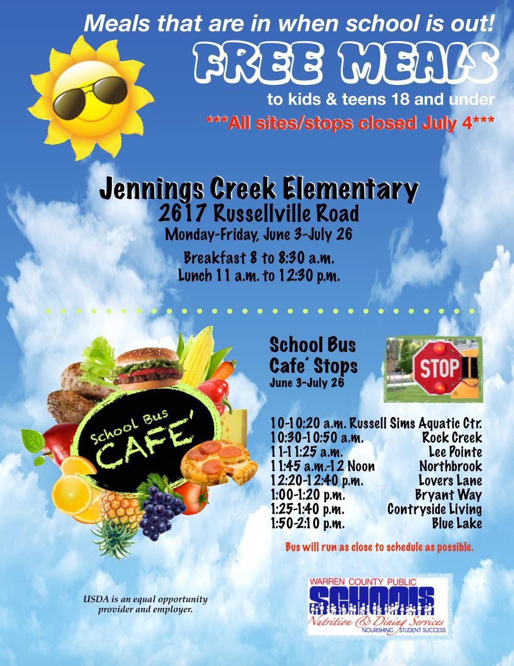 Warren County Public Schools Summer Food Service