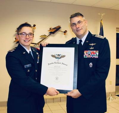 Felts promoted to cadet captain