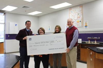BGHS class awarded with $1,000 grant for STEM education