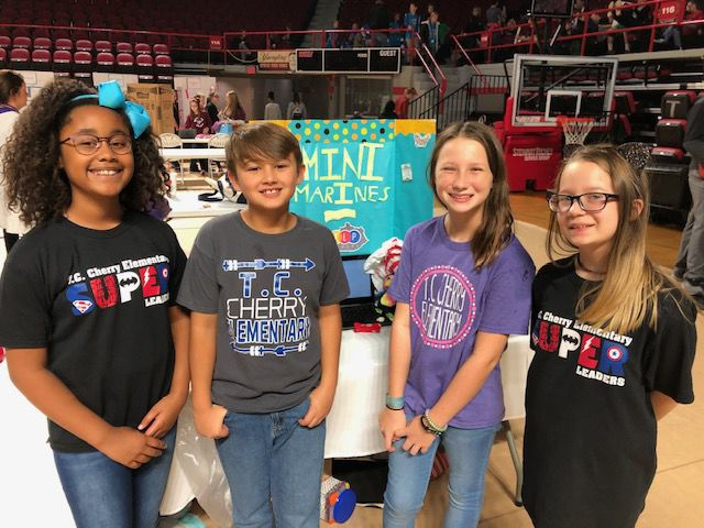 Students show off tech skills at regional STLP competition