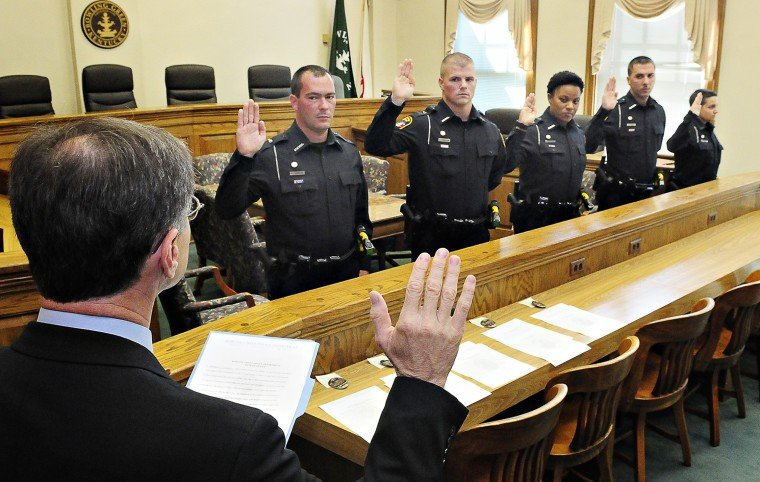New Police Officers Sworn In