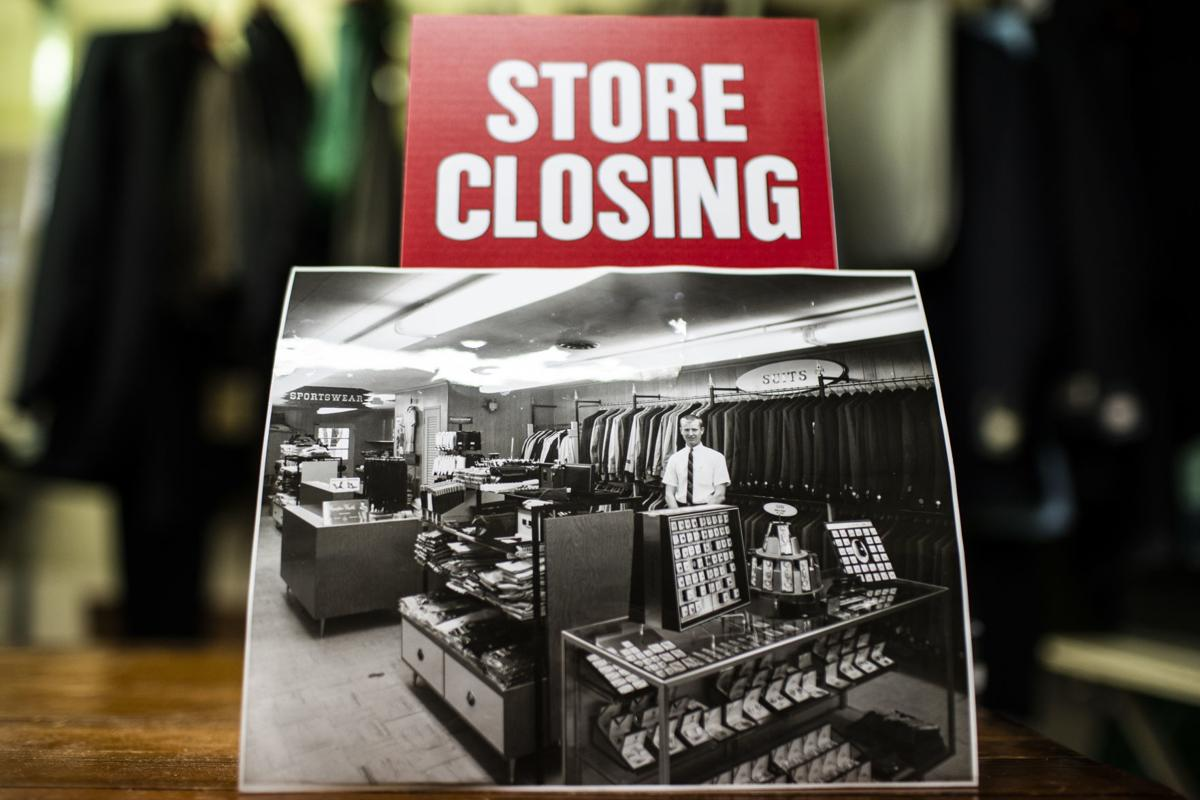 Jim & Gil's Men's Shop closing after 56 years
