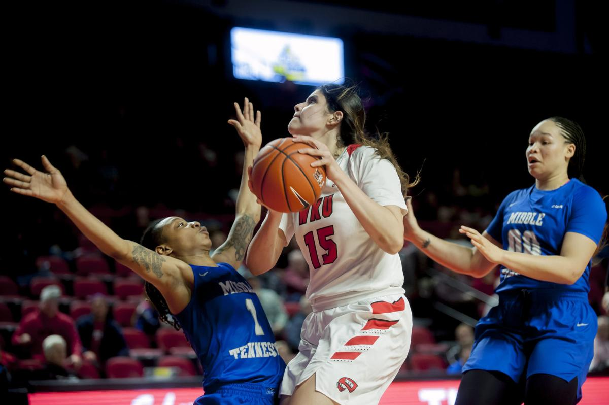 WBB: Western Kentucky 67-56 over Middle Tennessee