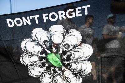 Never forget Srebrenica walk