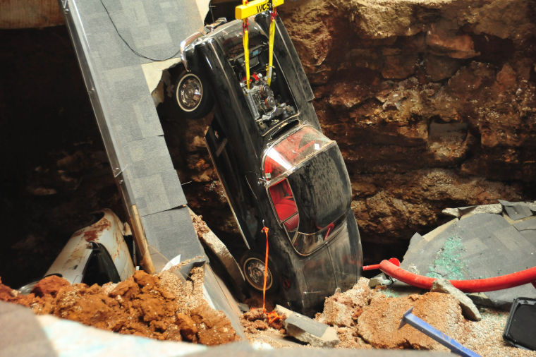 Third Corvette Now Out Of Sinkhole At Museum News