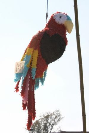 Pinata by sculptor Ronnie Jaggers