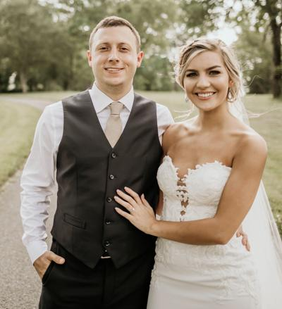Pannell, Stahl were married May 18