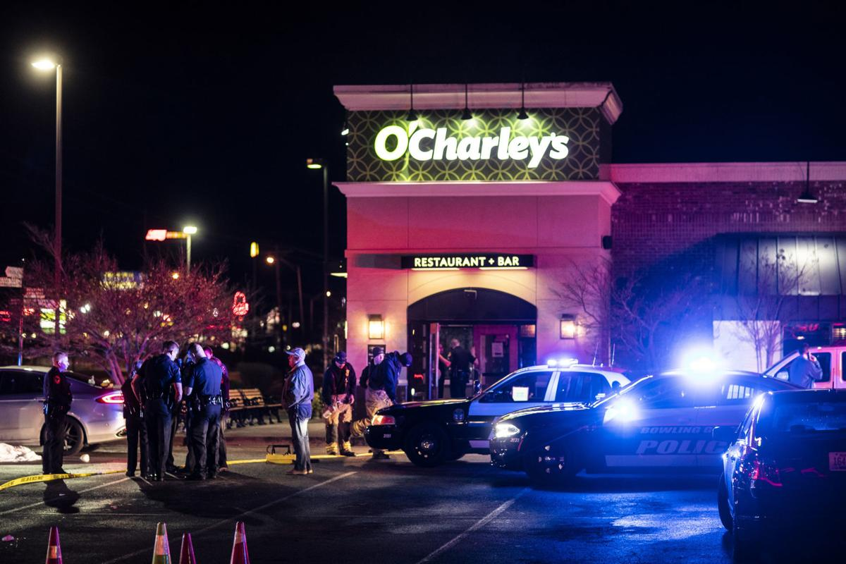 Shooting in O'Charley's parking lot