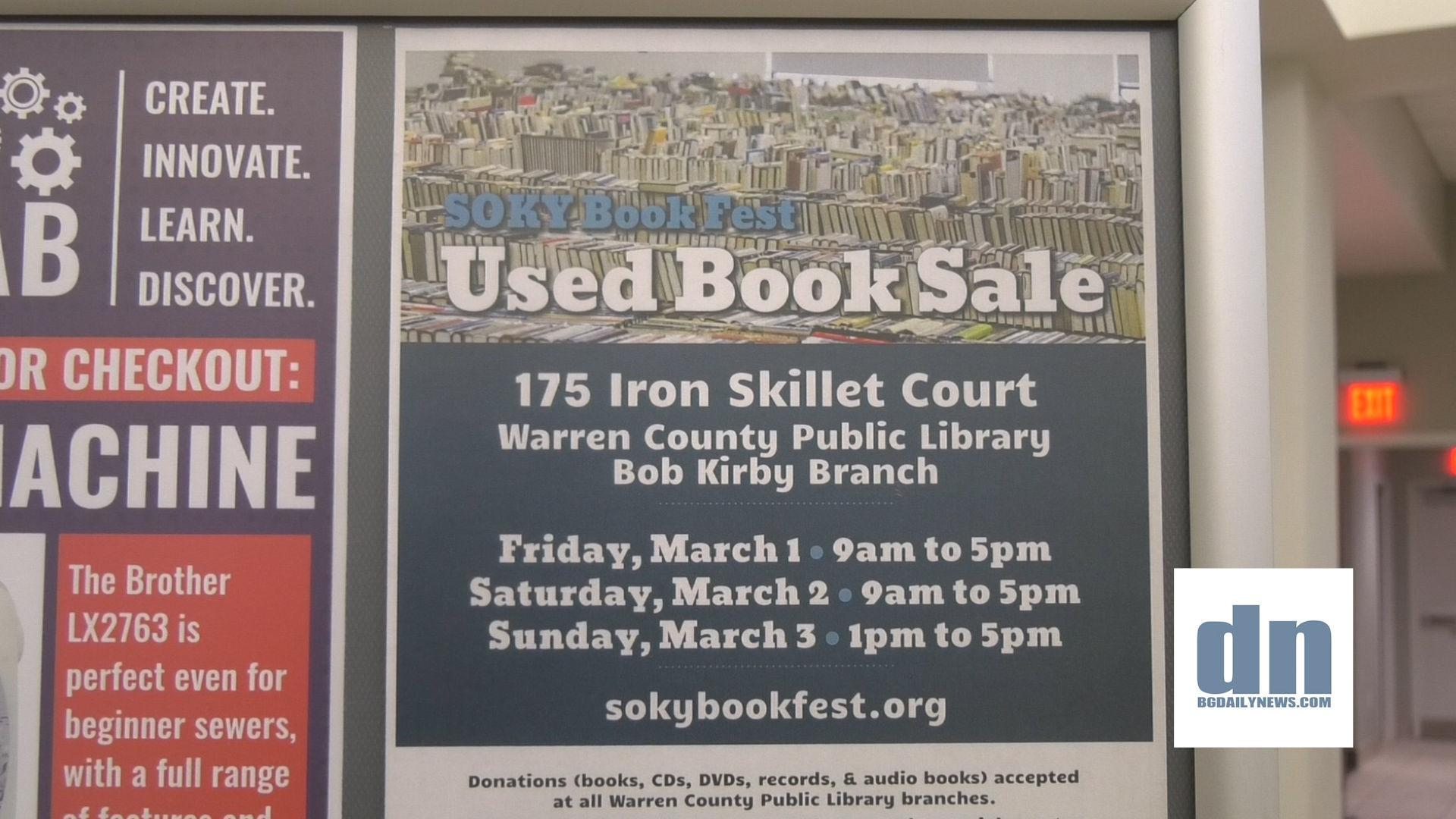 VIDEO: Warren Co  Public Library hosting used book sale March 1-3