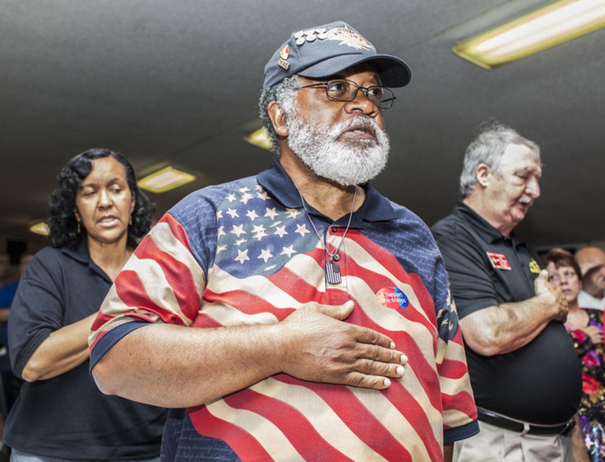 Not forgotten: American Legion holds Memorial Day service for veterans