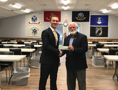 BGHS senior wins scholarship