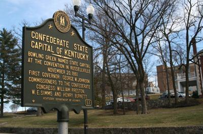 Civil War historical marker