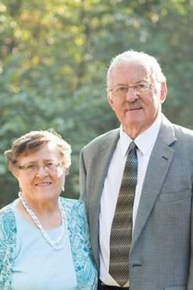 Vaughans celebrate 65th anniversary
