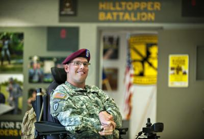 WKU ROTC student honored for overcoming life challenges