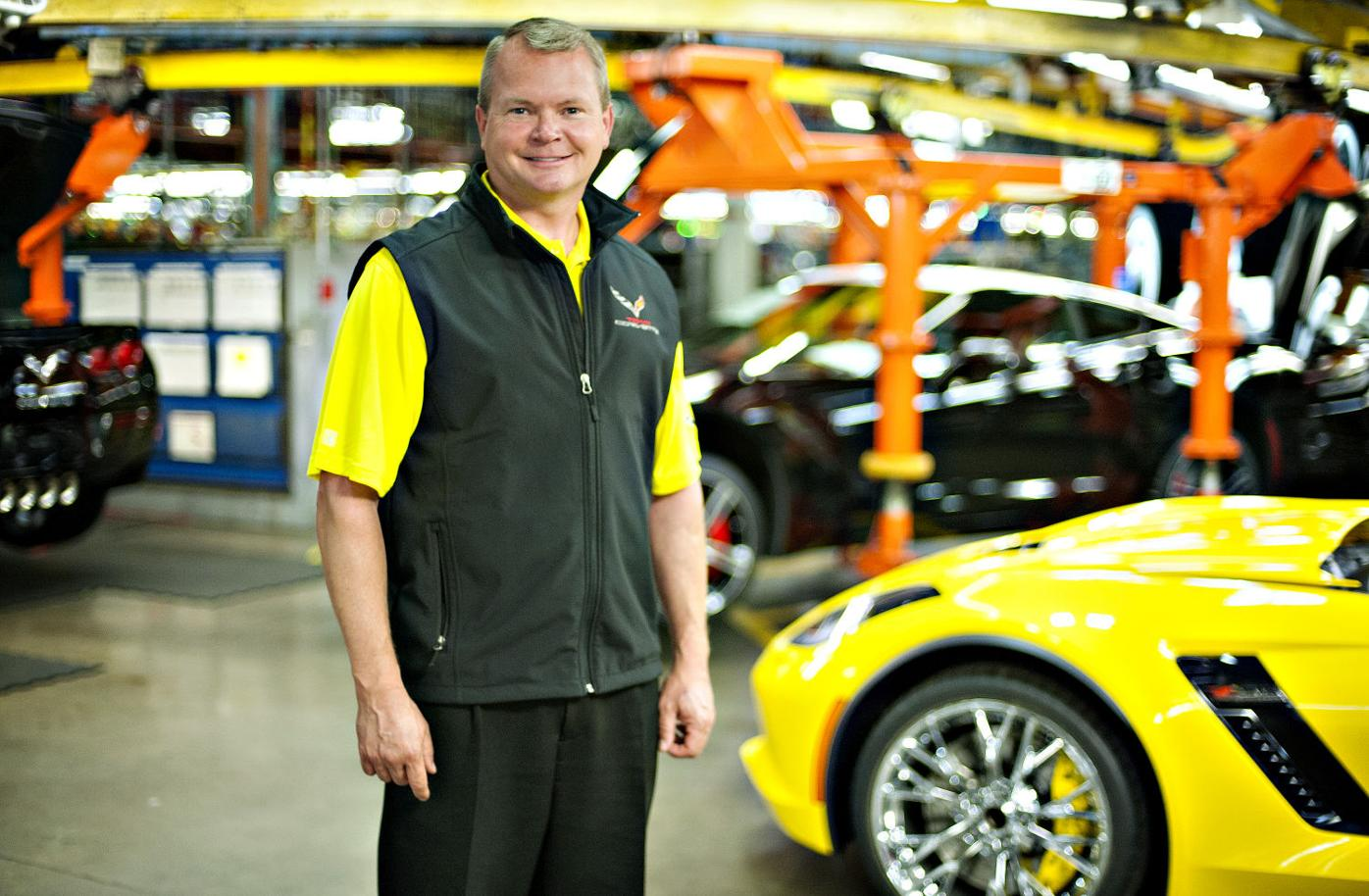 Kai Spande new manager of Bowling Green GM Corvette Assembly Plant