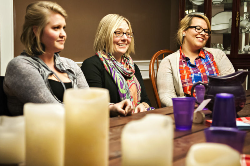 Local gathering of women provides safe place to share