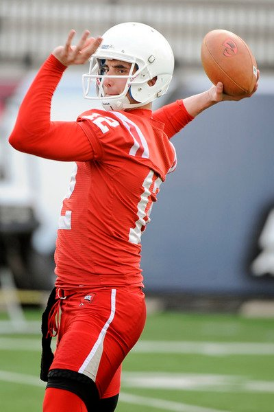 WKU practices for first time under Brohm