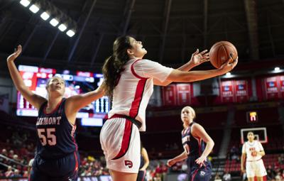Lady Toppers defeat Belmont 77-46