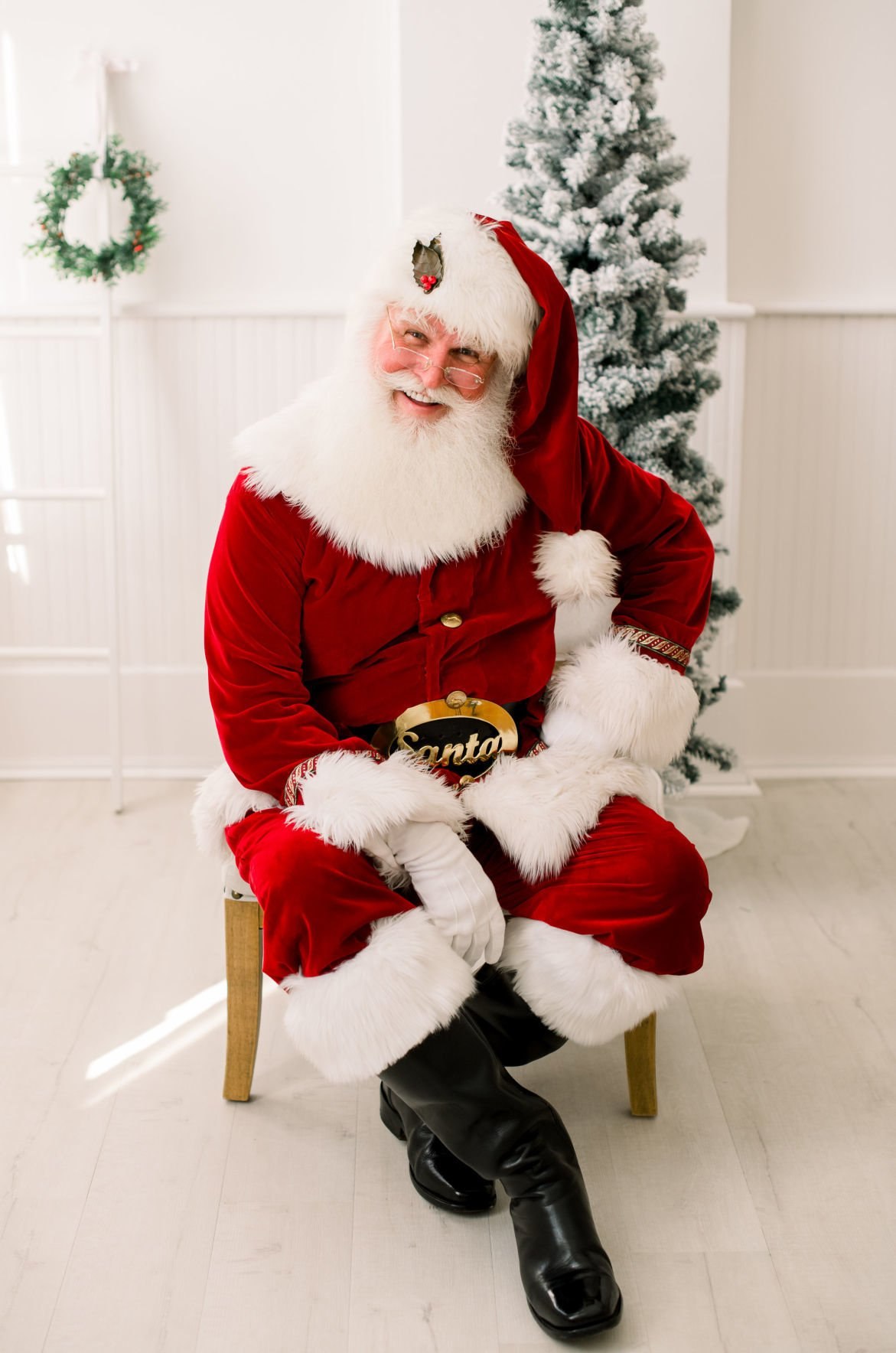 Santa Bob: 'He's exactly what I always envisioned Santa to be'