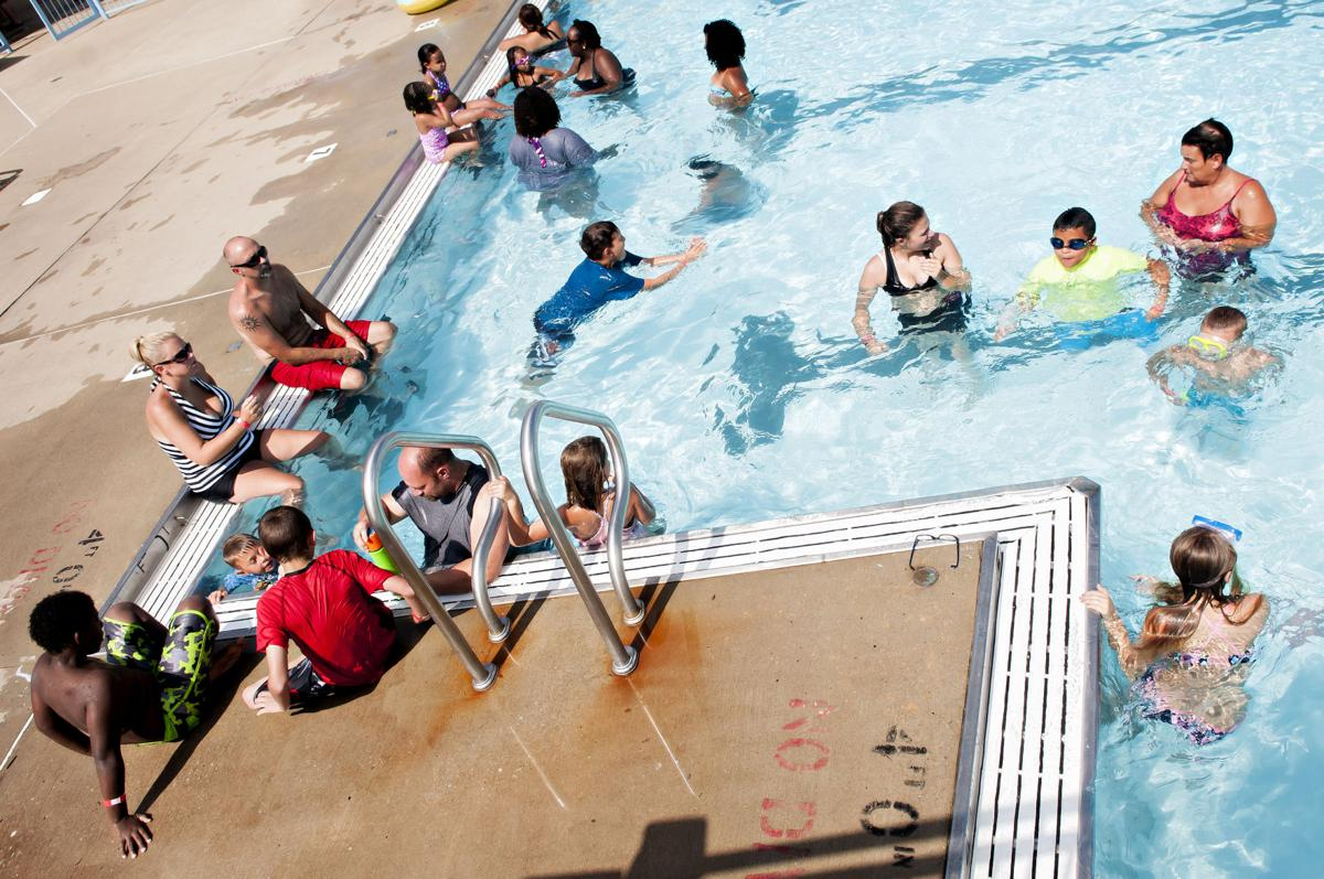 Slide show wku pbs pool party news for Pool party daily show
