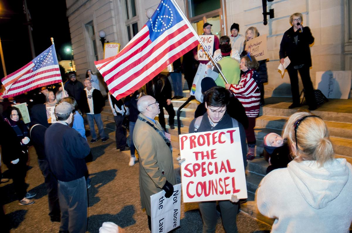 BG activists protest Whitaker's appointment