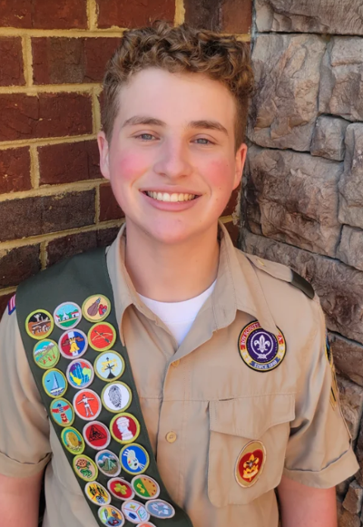 Wilder earns Eagle Scout Award